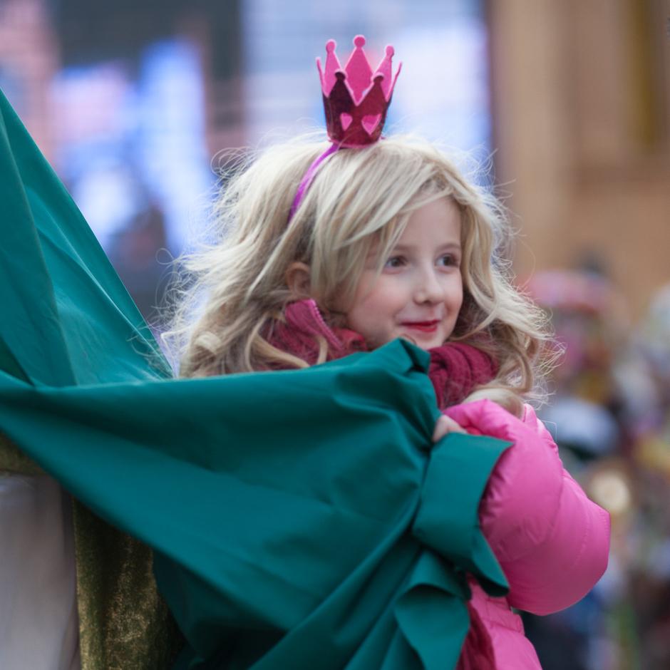 Prinzessin, Karneval, Venedig, Mädchen