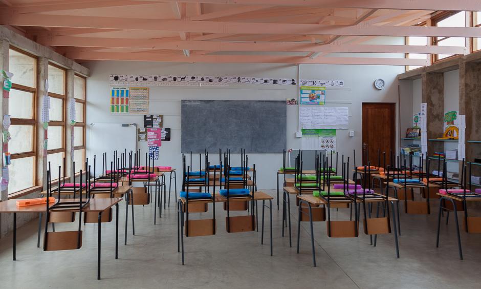 school class, grade, school, room, tidiness