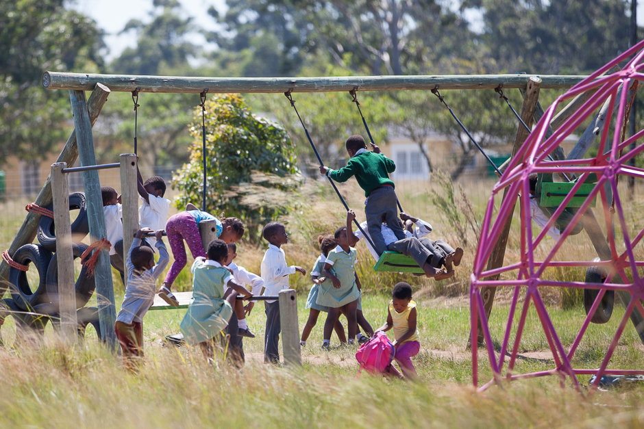 children´s playground, swing, fun, kids, leisure time