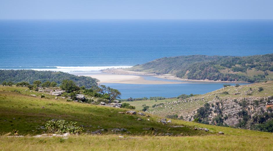 View over the Coast of KwaZulu-Natal