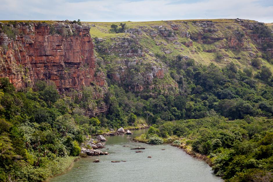 Mzamba-River (View from Pondoland)
