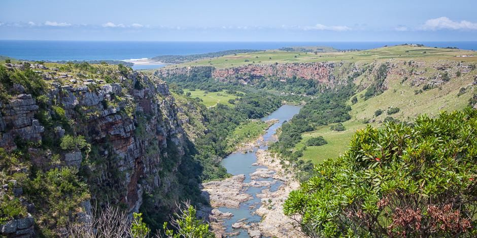 Mzamba River (View from Ithuba School)